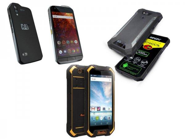 Отлично подойдёт для рыбалки и охоты: Эксперты назвали ТОП-3 самых противоударных смартфона в 2019 году