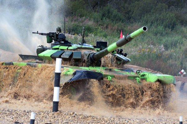 Сирийские военные прошли в международный этап Танкового Биатлона