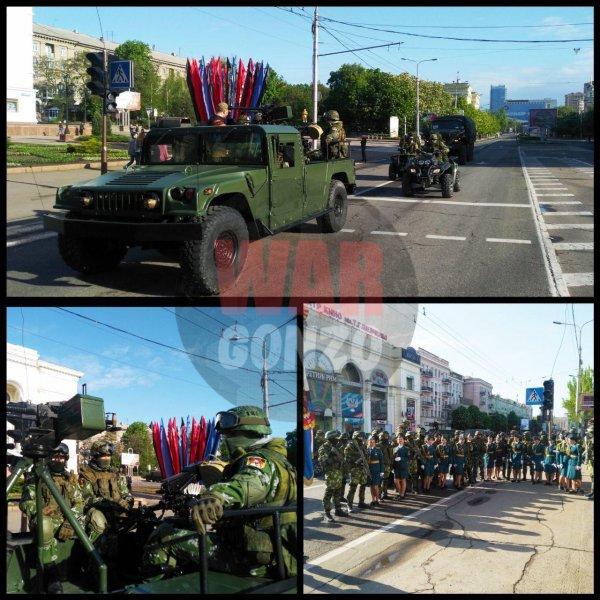 Трофейная американская техника примет участи в параде Победы в Донецке