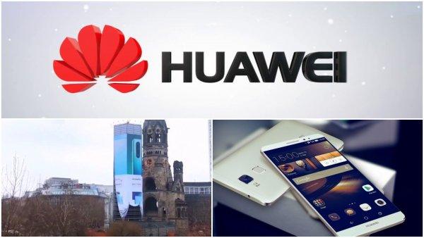 Huawei отличилась: В Берлине построили 20-этажный дом для рекламы смартфона P30 Pro