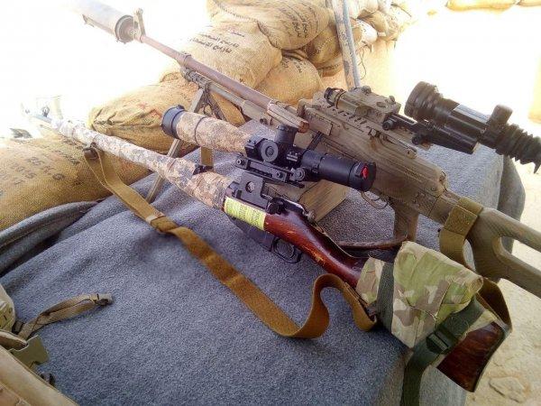 У спецназа ССО в Сирии замечена винтовка Мосина времен ВОВ