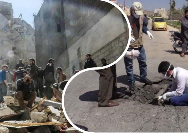 Минобороны РФ сообщило о готовящейся «химической» провокации боевиков в Идлибе