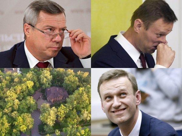 Навальный расследовал нарушение закона губернатором Ростовской области Голубевым