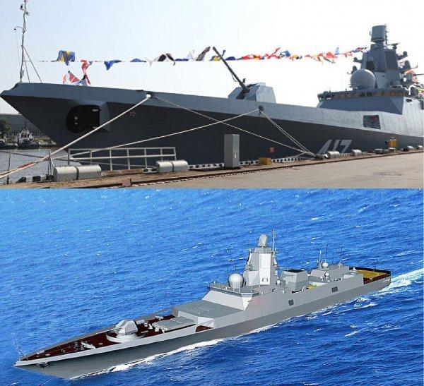 Современный российский фрегат «Адмирал Касатонов» вернулся в море для испытаний