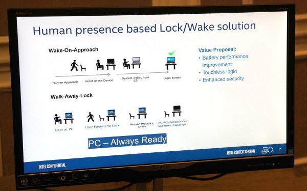 Ноутбуки Athena от Intel чувствуют присутствие хозяина рядом