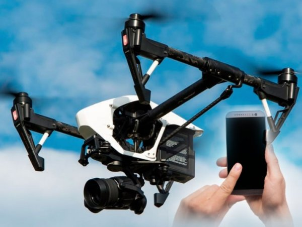 Пульт не нужен, достаточно смартфона - Компьютерная графика упростит управление дронами