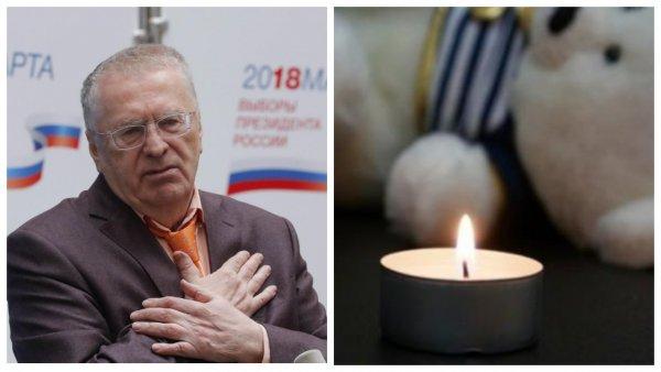 «Будьте мужчиной» - Жириновского «заклевали» за пиар на горе мальчика-сироты из Крыма