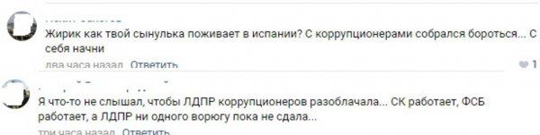 Жильё за счёт жулья: Россияне посоветовали Жириновскому начать борьбу с коррупцией с себя