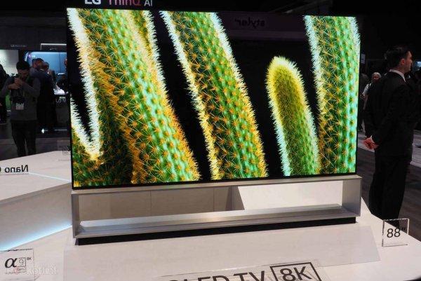 По цене автомобиля: LG представили 8K-телевизор за $42 тысячи