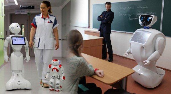В Россию пришла «умная» эпоха? Новые роботы облегчат тяжёлый труд врачей и педагогов