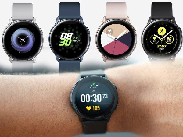 У смарт-часов Samsung Galaxy Watch Active появится продолжение