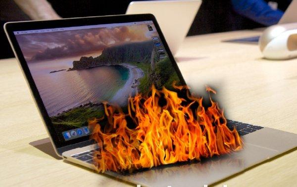 Возможно возгорание! Apple бесплатно заменит аккумуляторы в MacBook Pro