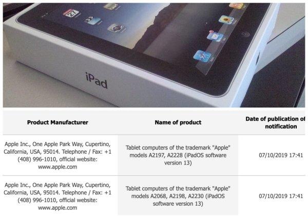 Обновленный iPad Mini выйдет в сентябре