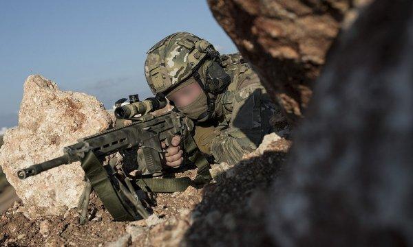 Спецназ провел «тест-драйв» новой снайперской винтовки СВЧ в Сирии