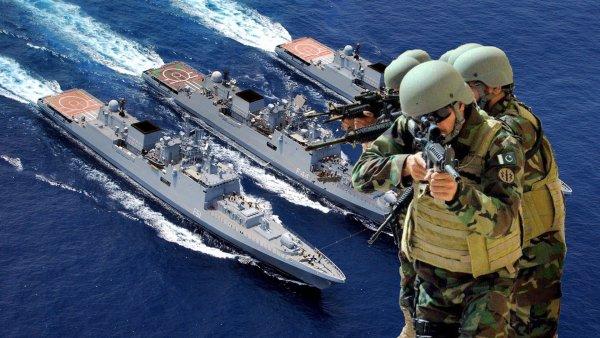 «Ихтиандры хреновы»: Коммандос Пакистана готовят атаку на ВМС Индии