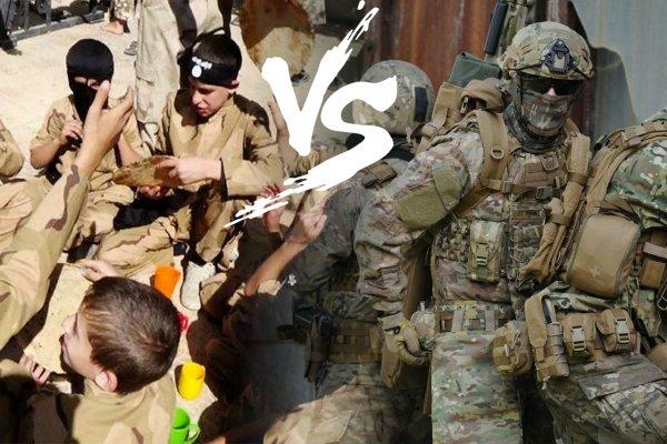 ССО ГРУ в Сирии противостоит Детский батальон ИГИЛ — эксперт