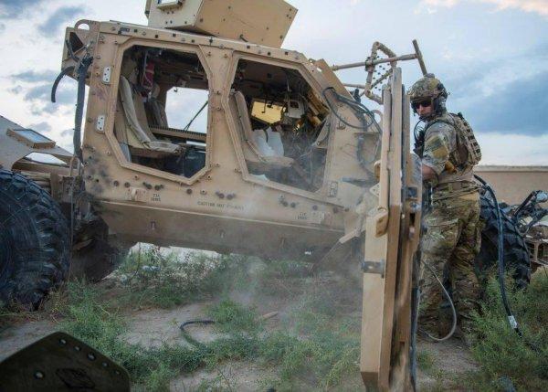 Спецназ США раскритиковал свою новую бронетехнику