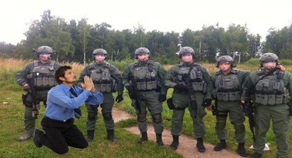 Спецназ СВР «Заслон» ликвидирует американского шпиона