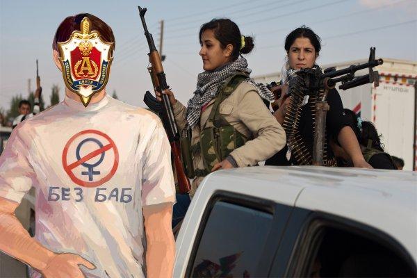 «Без баб!» Спецназ «Альфа» и «Вымпел» ЦСН ФСБ ликвидируют женский «батальон» ИГИЛ* - эксперт