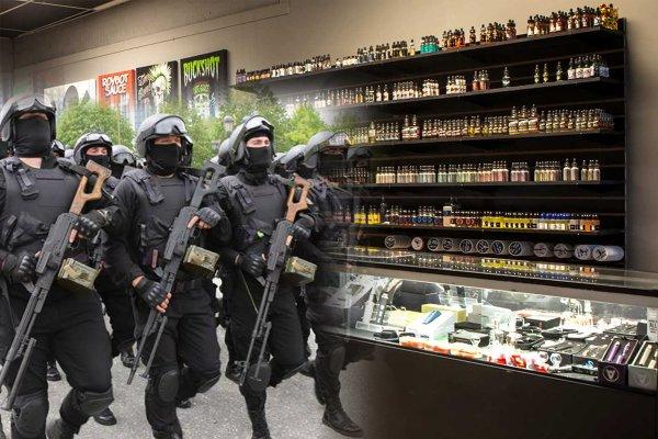 ЗОЖ от Кадырова: чеченская Росгвардия проводит рейды против торговцев вейпами