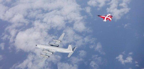 Мода догнала Россию! Датские ВВС с необычной окраской перехватили Ил-20м