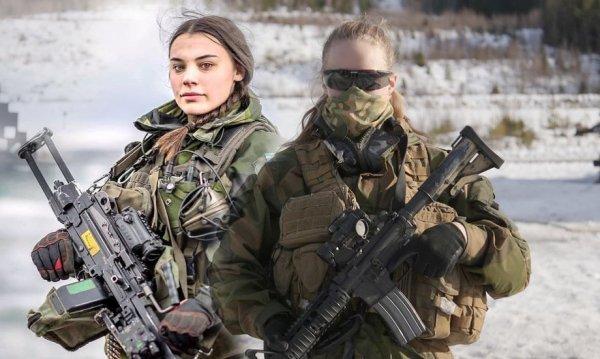Самым боеспособным отрядом армии Норвегии оказался женский спецназ