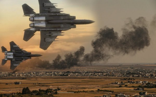 «Чудаки полосатые!» ВВС США атаковали свои склады в Сирии по ошибке