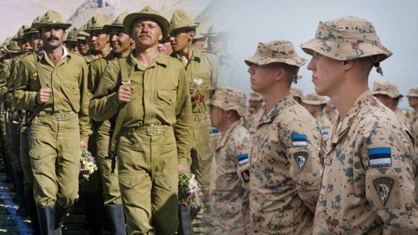 Эстонские призывники уже 40 лет воюют в Афганистане