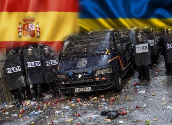Как на Украине... «Майдан» в Испании может перерасти в кровавую бойню по всей стране
