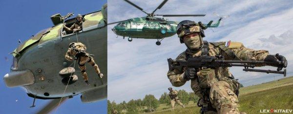Тренировки СпН погранслужбы ФСБ перед отправкой в Сирию «случайно» засняли на фото — сеть
