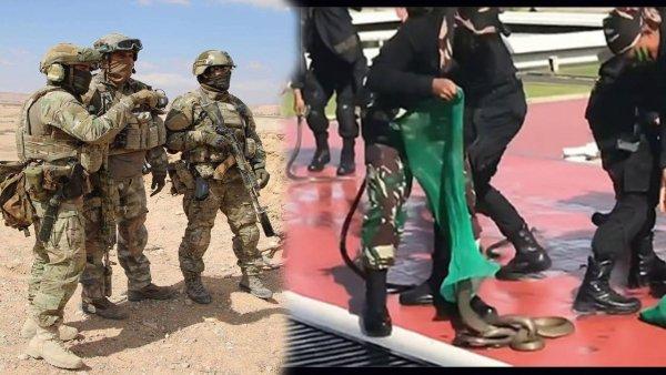 «Шевелится — ешь!». Чему учат бойцов спецназа разных стран на курсах выживания?