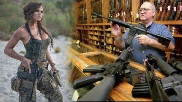 Секс продаёт. Почему оружие рекламируют Instagram-«модели»