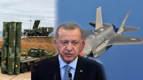 «Эрдоган и два стула». Турция снова разрывается между С-400 и F-35
