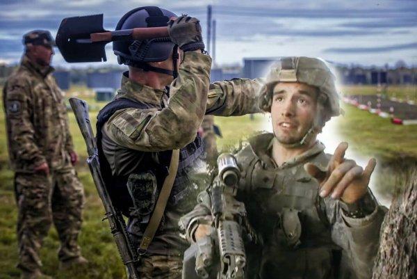 «Дёрнусь - он убьёт меня лопатой»: Инструктор спецназа США о встрече с «десантурой» в Косово