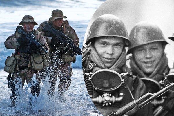 «Адская неделя СССР» Курс спецназа США «Морские котики» сворован у русских