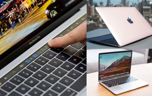Touch Bar вместо MacBook 12