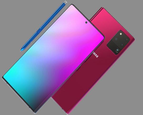 В сети появились информация о камере нового Samsung Galaxy Note20
