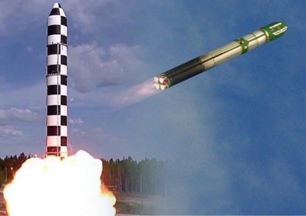Борисов рассказал о ходе работ над ракетой «Сармат»