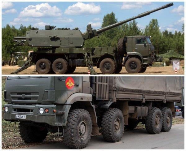 «Ростех» начал испытания колёсной САУ «Коалиция-СВ-КШ»