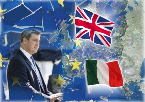 Выход Италии из ЕС после Brexit оставит от Европы руины