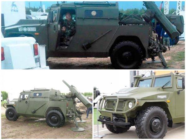 ВПК превратила бронеавтомобиль «Тигр» в самоходный миномёт