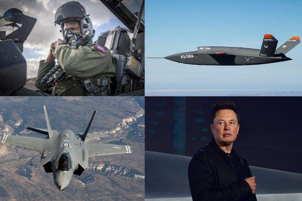 В США проведут воздушную дуэль истребителя F-35 с БПЛА Илона Маска