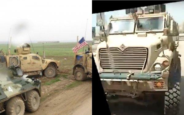 Российские военные в Сирии без проблем обошли американский блокпост