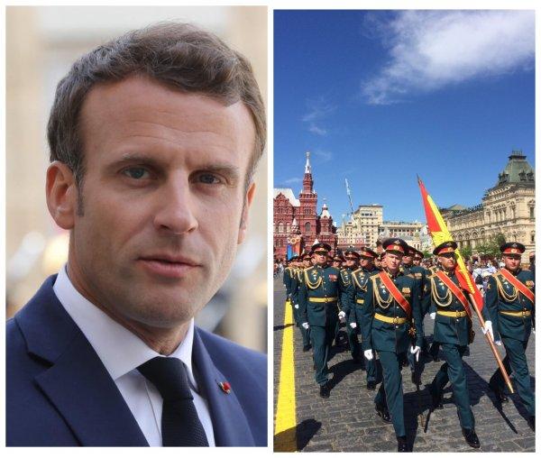 Макрона не пригласили на парад Победы в Москву 24 июня