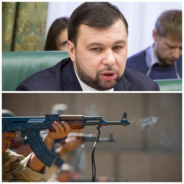 Глава ДНР заявил о готовности уничтожать атакующие украинские позиции