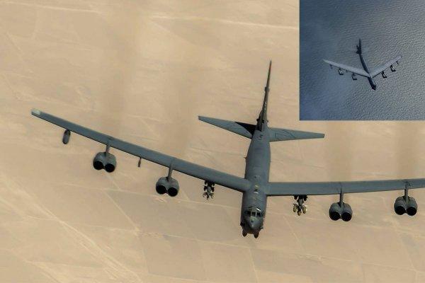 ВВС России сопроводили американский бомбардировщик над Охотским морем