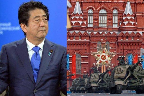 Японский премьер отказался лететь в Россию на Парад Победы