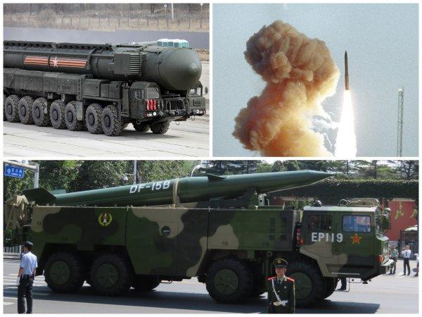 Аналитики SIRPI сравнили ядерные силы Китая, России и США