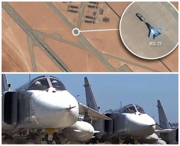 «Российские» МиГ-29 и Су-24 повлияли на ход войны в Ливии